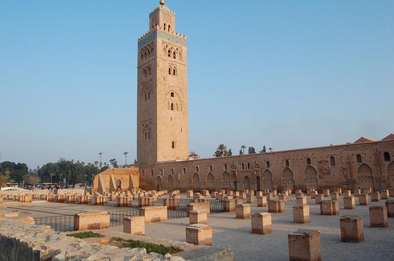 La Moschea della Koutoubia, Marrakech