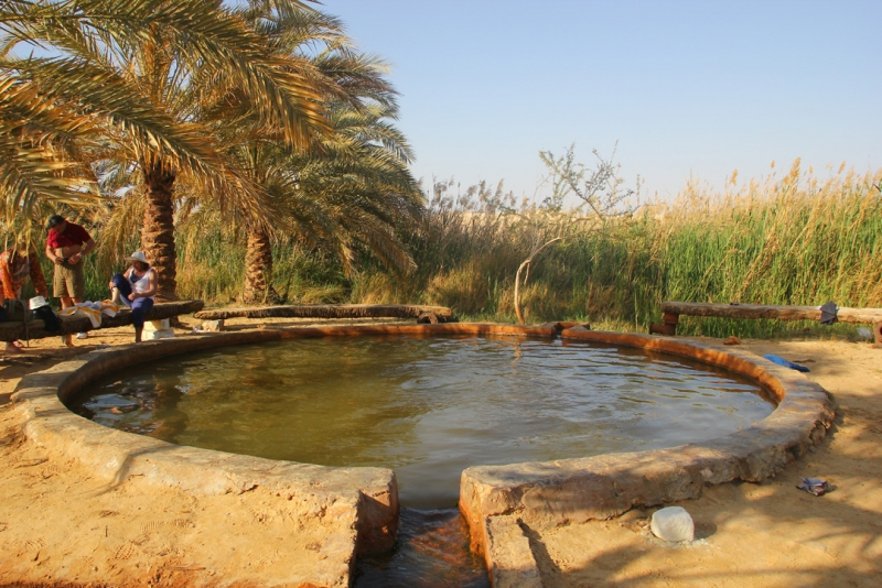 Hot Water in Farafra