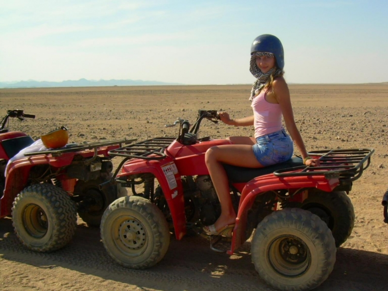 Quad Biking in Hurghada - Egypt