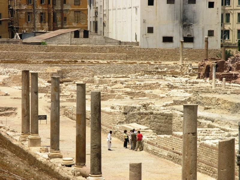 Roman amphitheatre, Alexandria