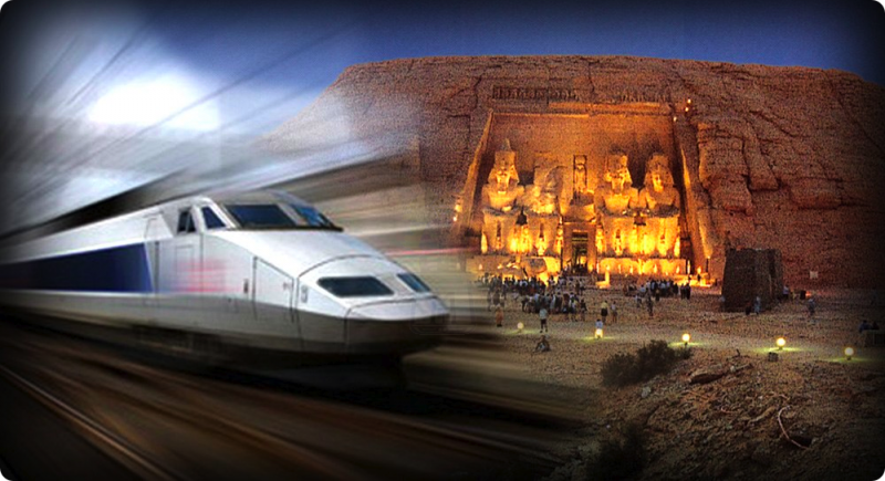 カイロ行き寝台列車