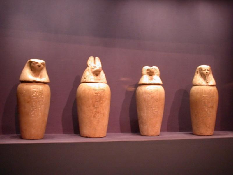 Canopic Jars, Egypt