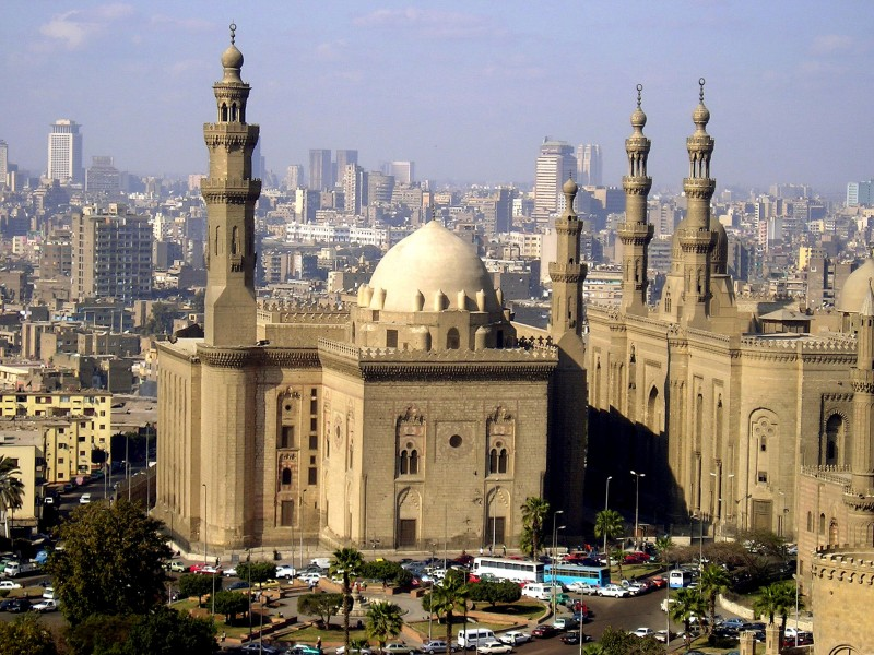 Sultan Hassan Mosque in Cairo
