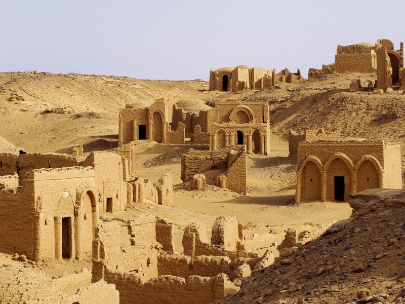 Bagawat Necropolis, Kharga
