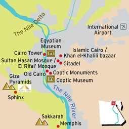 Le Caire - Cartes
