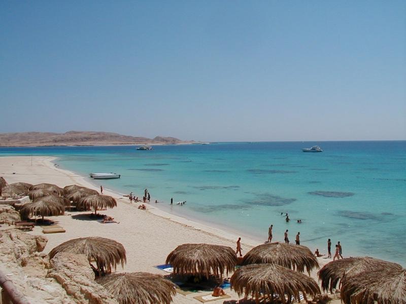 Mahmya Island in Red Sea