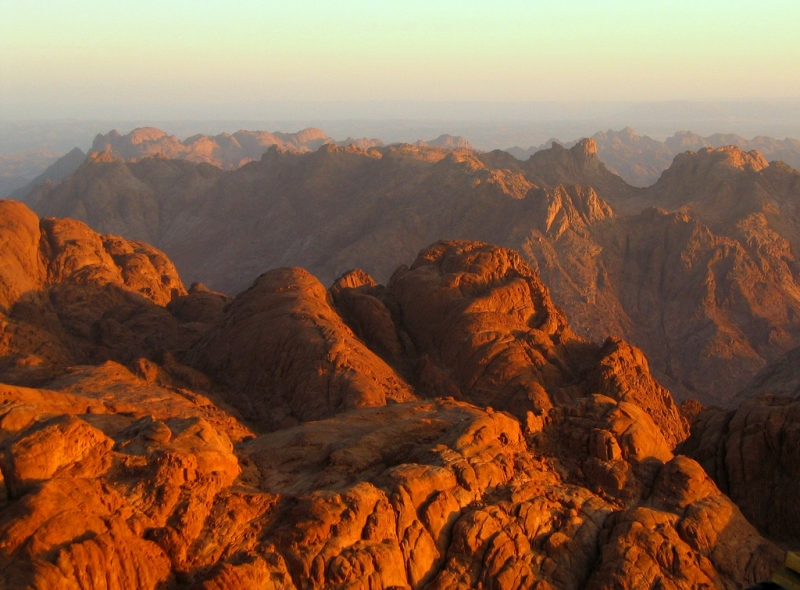 Monte de Moises, Sinaí