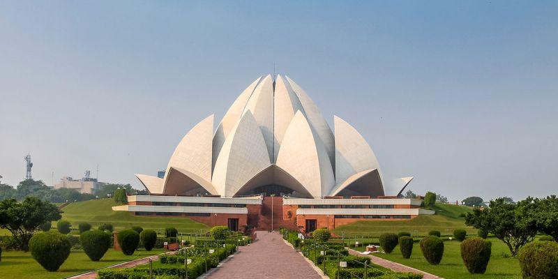 A moderna Nova Delhi