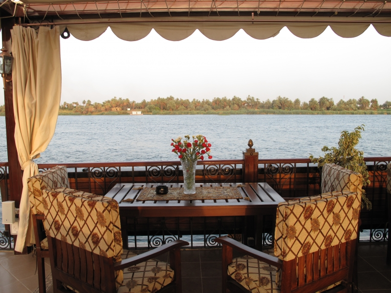 Rois Dahabiya Nile Cruise Views