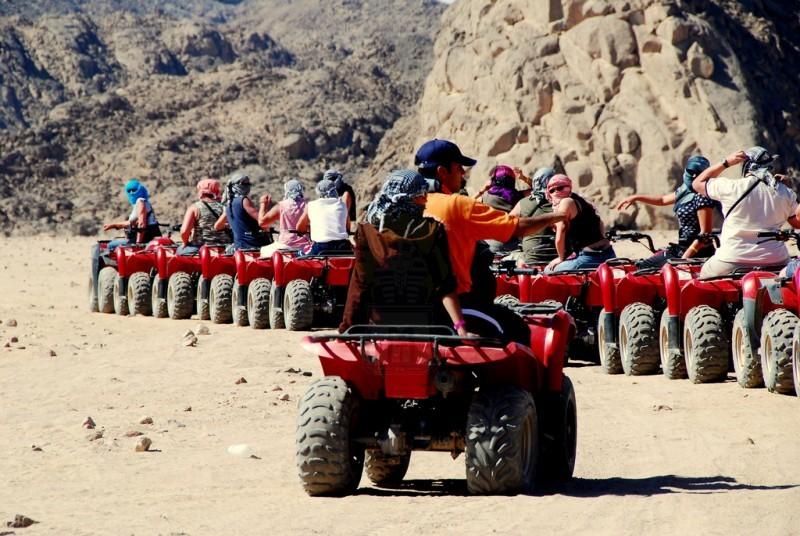 Пустынные Сафари на Квадроциклах