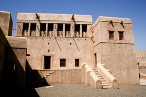 Al Hillah Castle in Oman