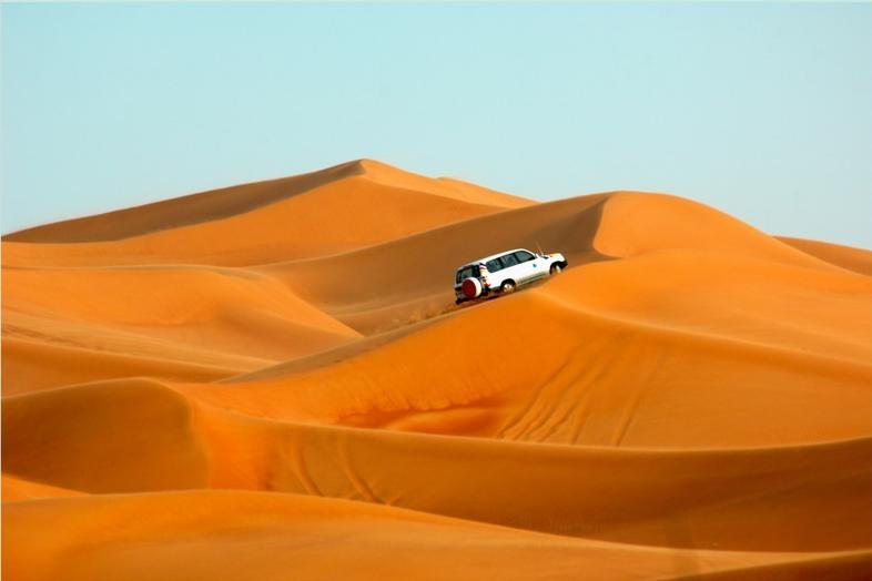Deserto Dubai in Mattinata