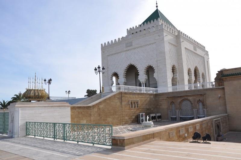 Mausoleum von Mohammed V in Rabat