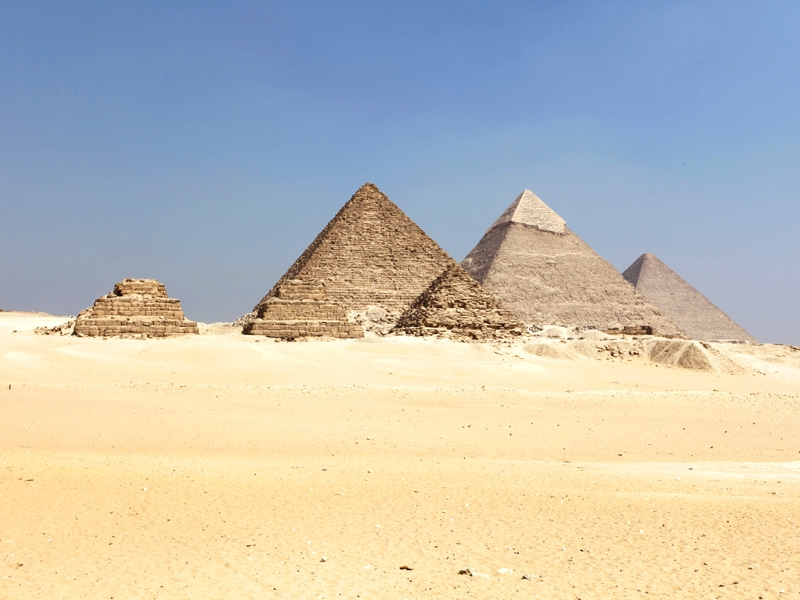 The famous Pyramids, Cairo