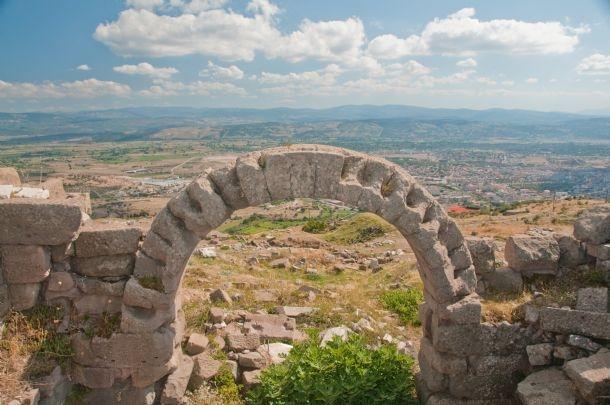 The Ruins of Bergama, turkey