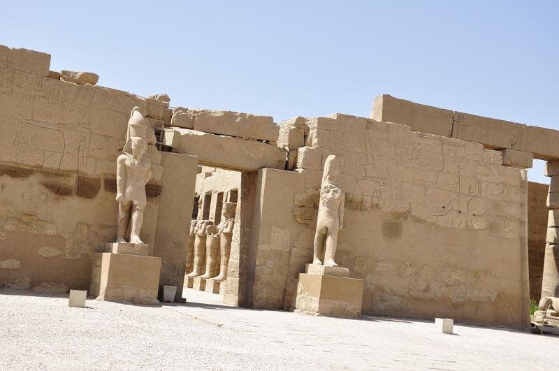 Luxor Temple in Luxor