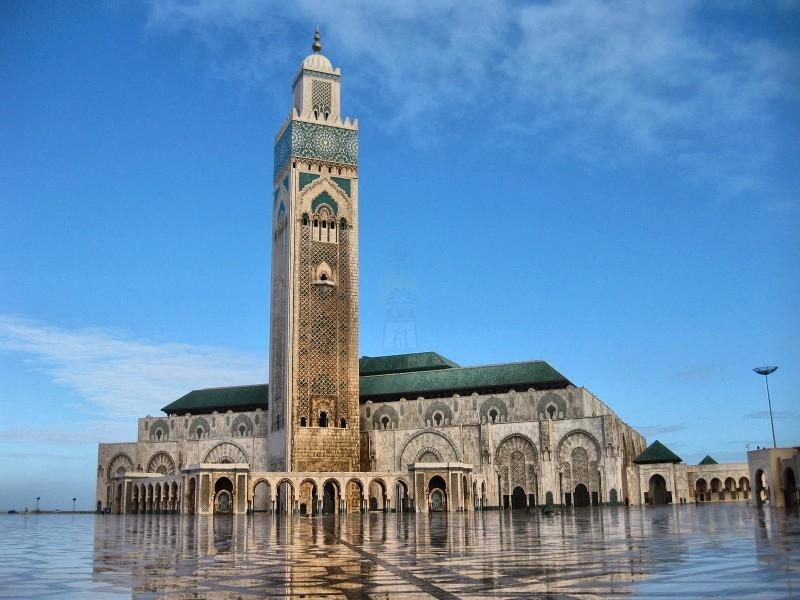 哈桑二世清真寺,卡萨布兰卡市,摩洛哥