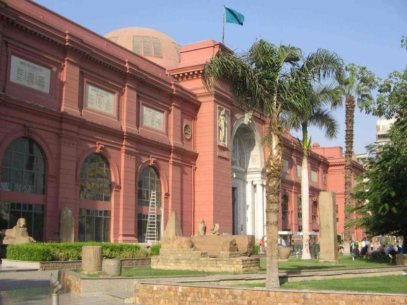 El Museo Egipcio, El Cairo