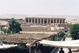 Totentempel des Sethos I. in Abydos