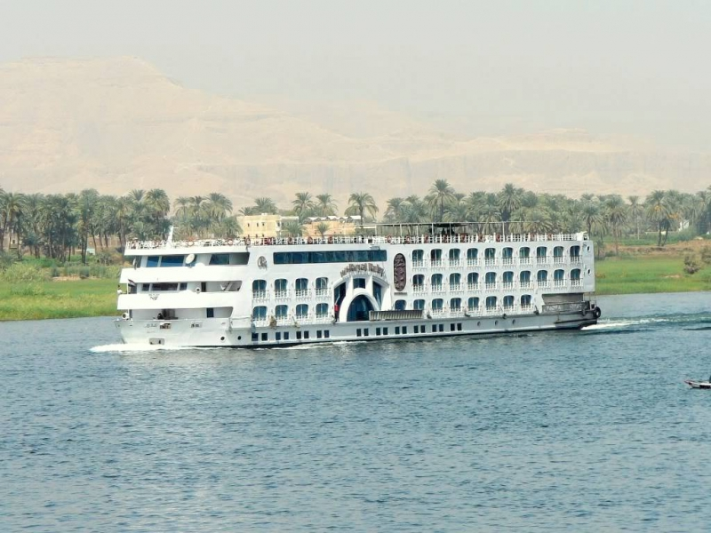 Nile Cruise in Luxor, Egypt
