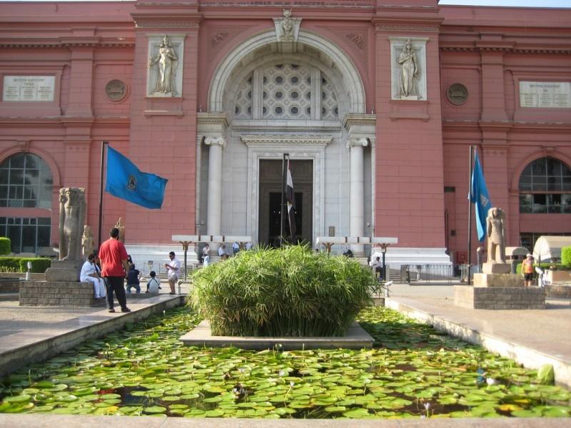 埃及博物馆,解放广场,开罗