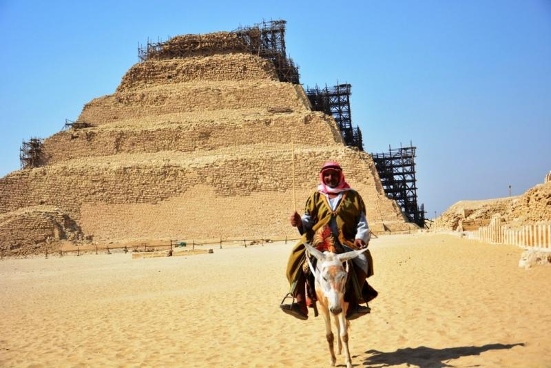 Saqqara Step Pyramids at Giza