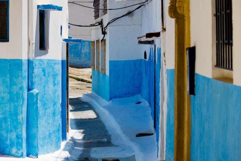 Ruelle dans la Kasbah des Oudaïas