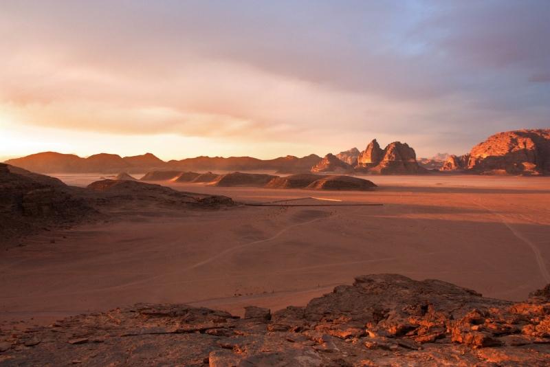 Wadi Rum of Jordan