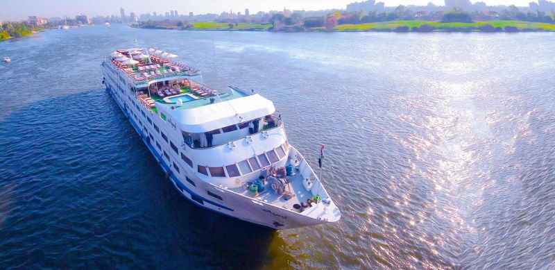 MS Salacia Nilkreuzfahrtschiff | 5 Sterne Nilschiffe