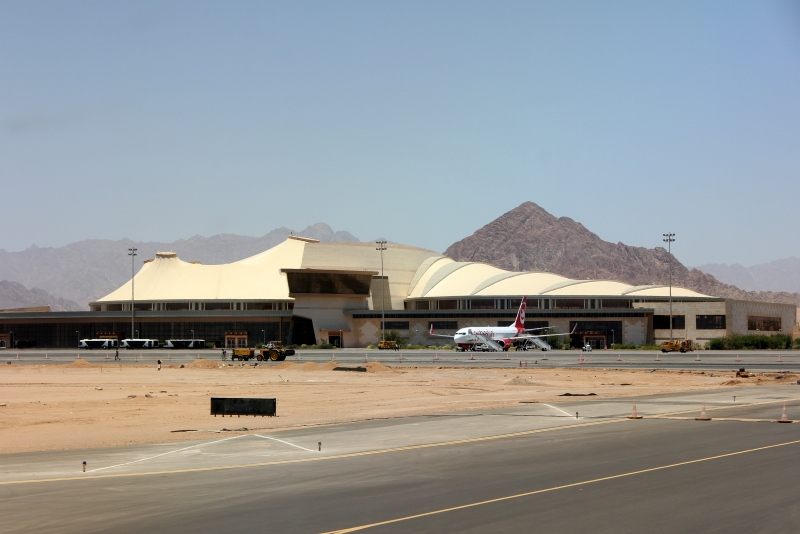 Sharm El Sheikh Airport, Egypt