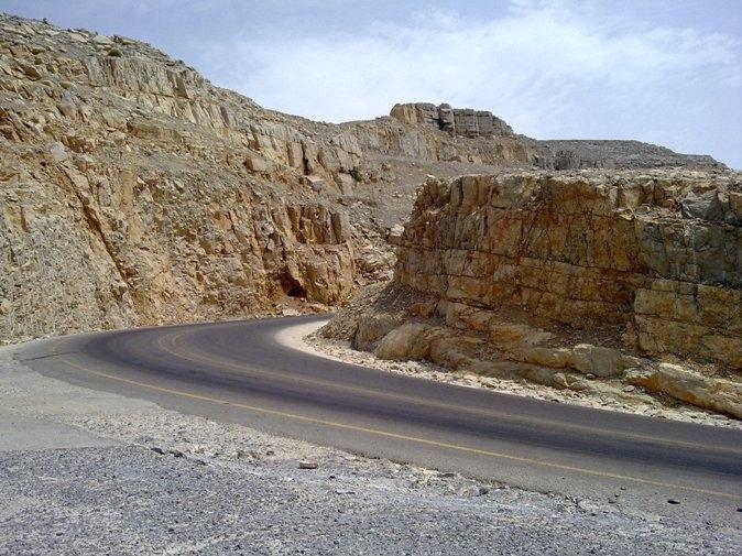 Roads in Musandam