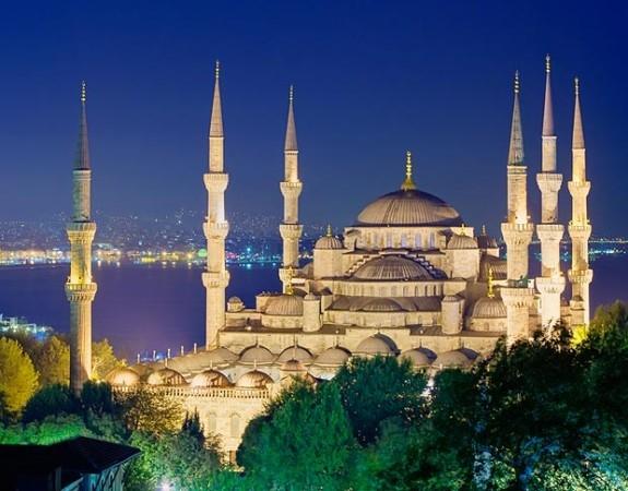 Mesquita do Sultão Ahmed - Mesquita Azul