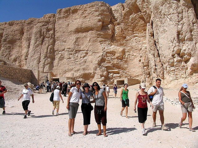 Valley of the Kings in Luxor, Egypt
