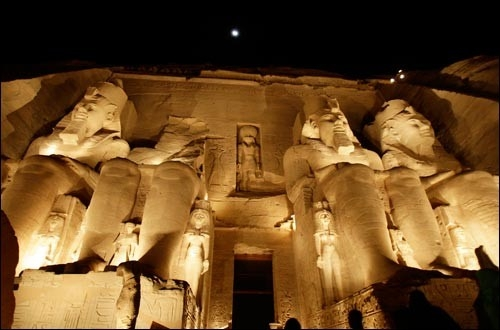 Sound and Light Show at Abu Simbel Temples