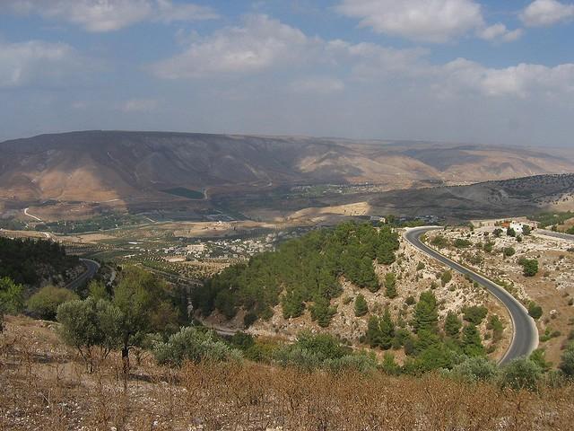Vista della Città di Umm Qais, Giordania