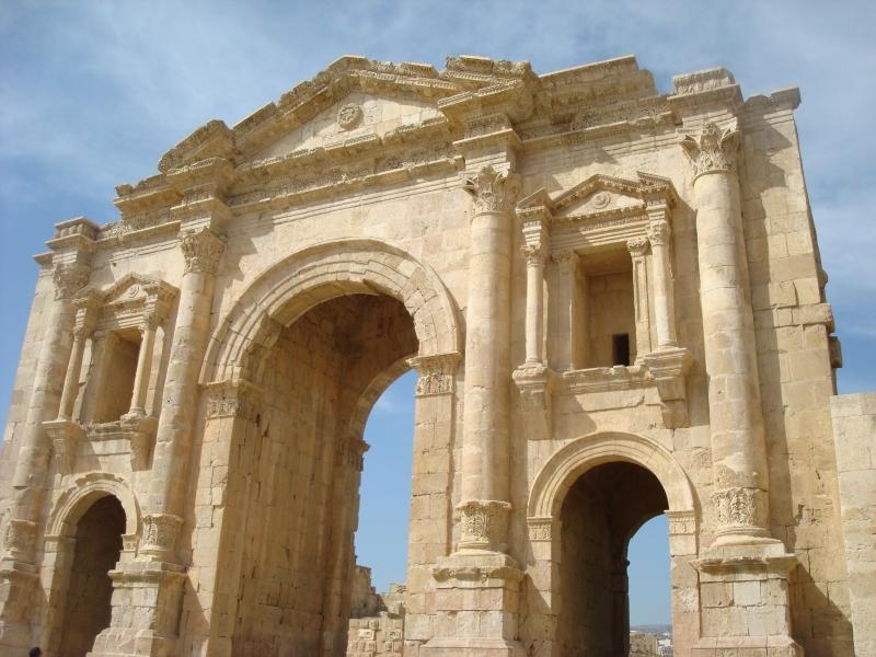 Porte d'Adrien, Jerash