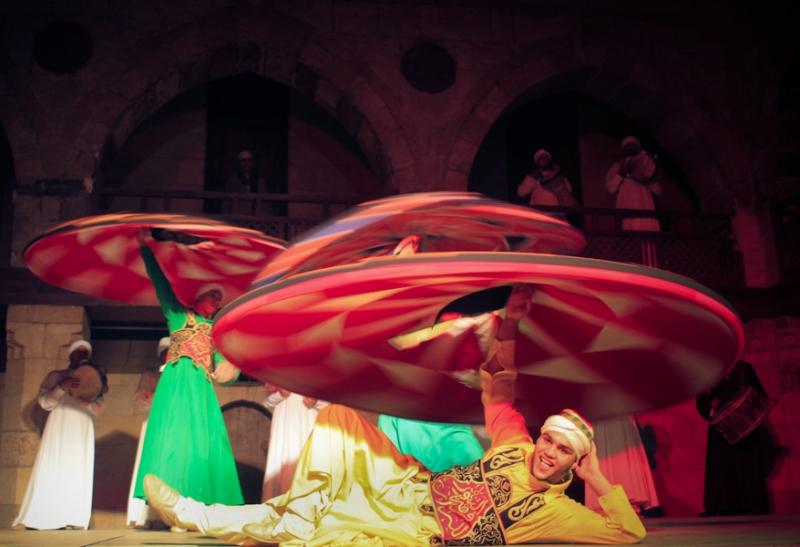 Tanoura Folklore show in Cairo