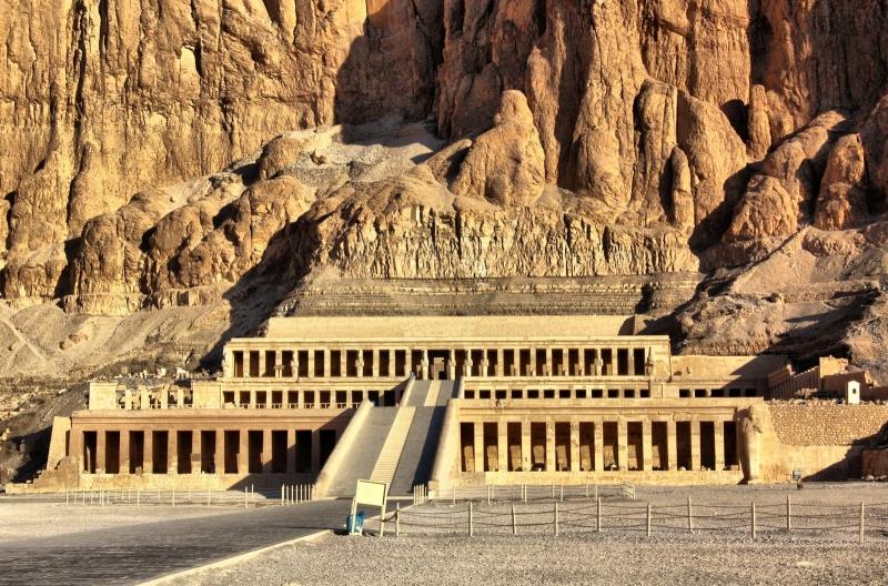 Hatshepsut Temple at El Deir El Bahary in Luxor