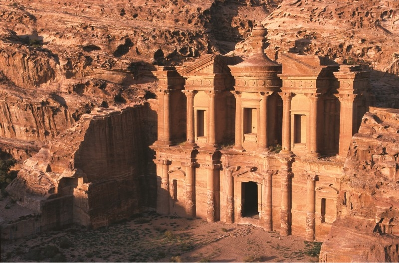 The Monastery (Al Deir) in Petra