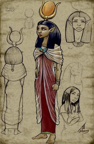 La Dea Hathor