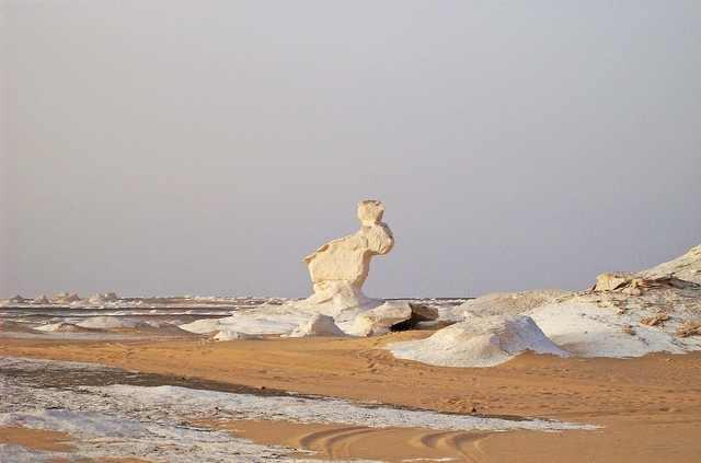 The White Desert of Egypt