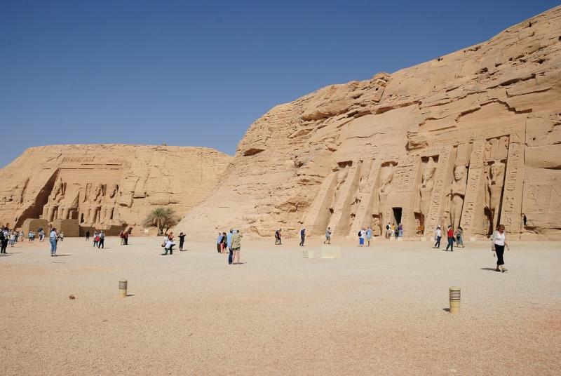 The Temple of Queen Nefertari in Aswan