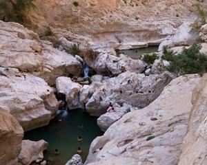 Wadi Bani Awf (Suspended Road)