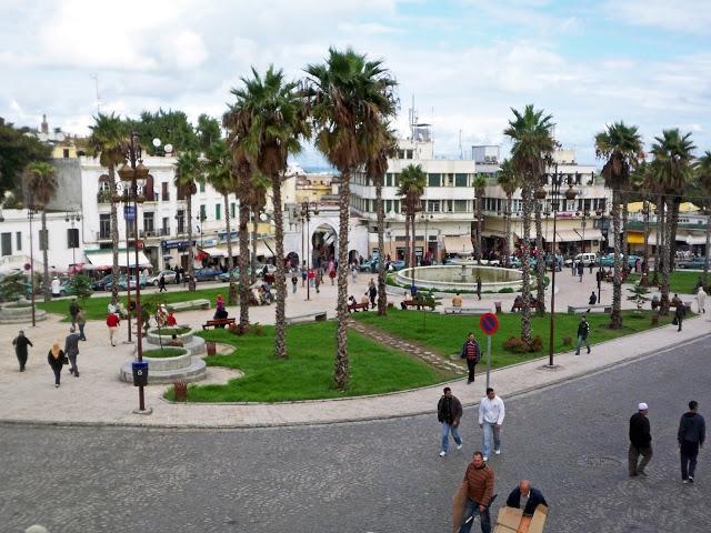 Morocco-Tangier-Grand-Socco-Square