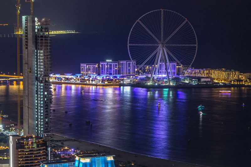 Bluewaters Island and Dubai Eye