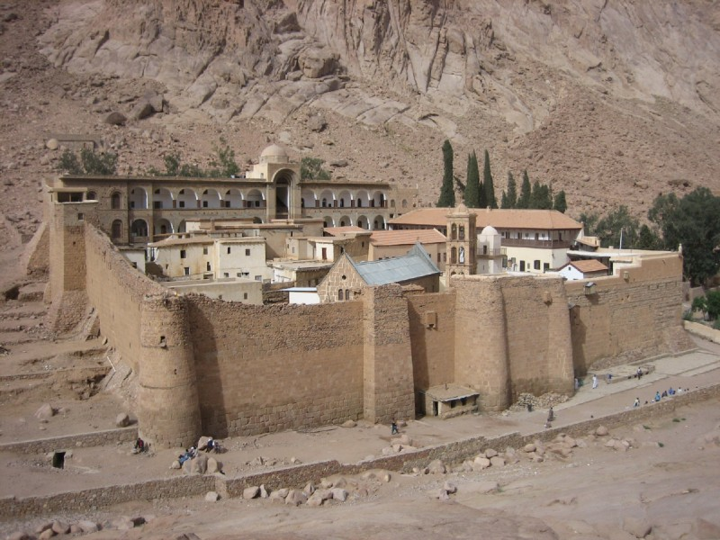 St. Catherine Monastery Enclosure Wall