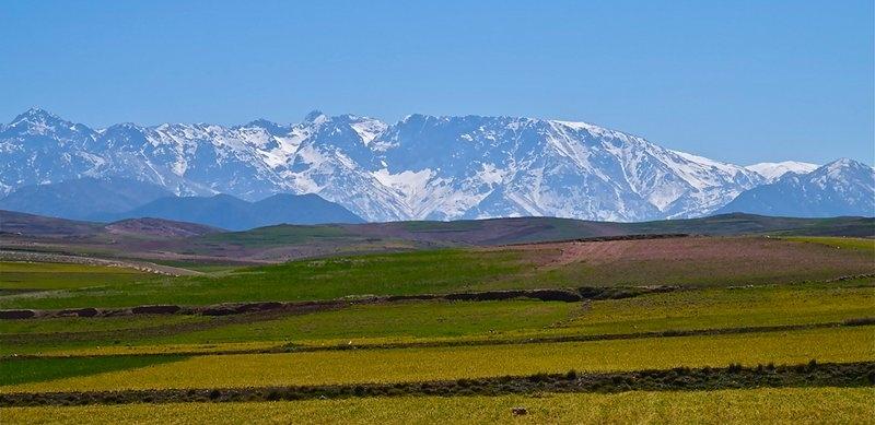 Vista Panoramica della Valle di Ourika