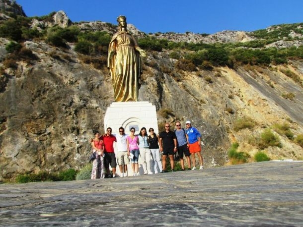 The Virgin Mary Statue, Ephesus