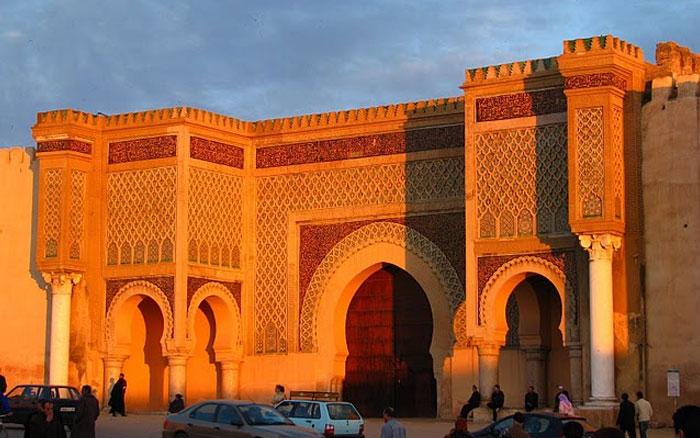 Bab Mansour, Meknes.