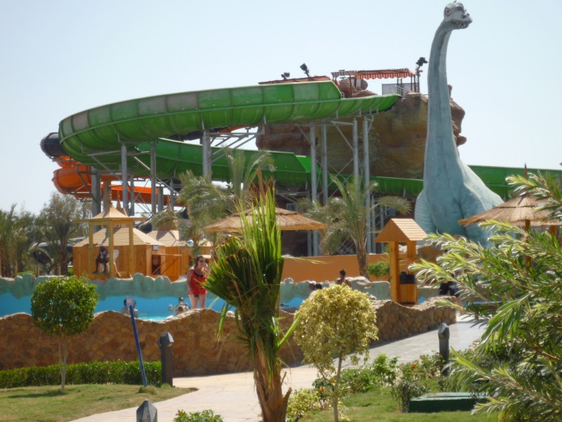 Aqua Park in Sharm, Red Sea